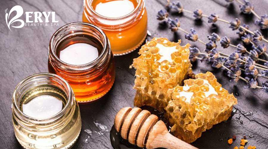 Mật ong được áp dụng trong triệt lông chân hiệu quả
