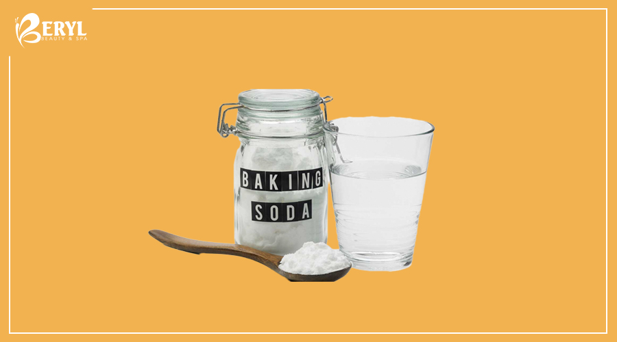 Baking soda có công dụng làm mờ các vết thâm, nám hiệu quả