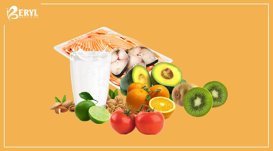 Bổ sung đầy đủ các chất dinh dưỡng để ngăn ngừa nám da
